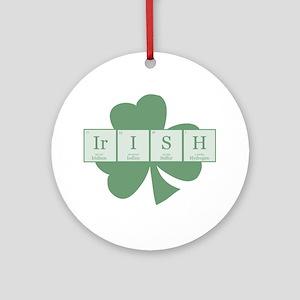Irish [elements] Ornament (Round)